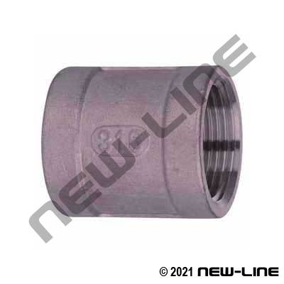 Forged 316 Stainless Steel Coupling