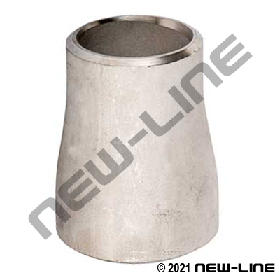 304 Stainless Reducer Coupling Butt Weld