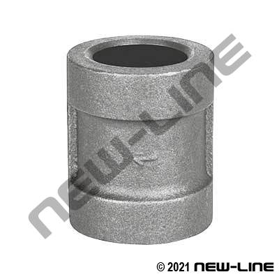 Forged SW 316SS Coupling Cl.3000 Sch160 Asme B16.11