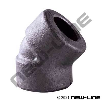 3000# Forged Socket Weld Elbow 45°