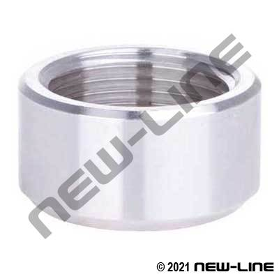 Stainless Half Weld Coupling