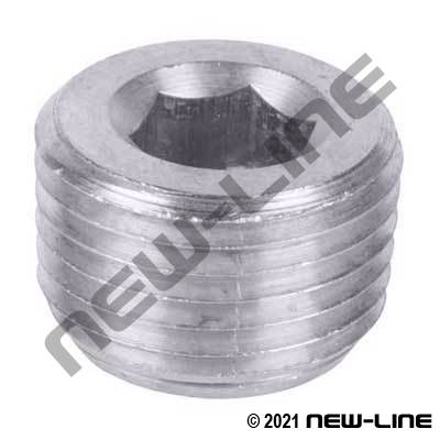 Stainless Hex Countersunk Plug