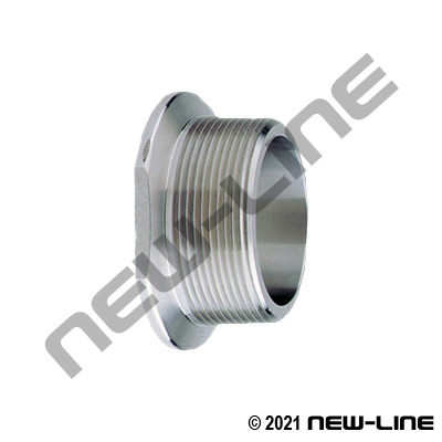 Stainless Manifold Flange Adapter x Male NPT