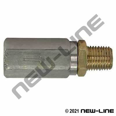 High Pressure Water Inline Filter - Female x Male NPT