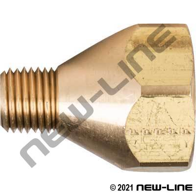 CGA Coupling - Female POL x Male NPT