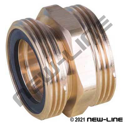Male Acme X Male Acme Brass Or Plated Steel