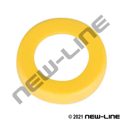 Yellow Lock-On Replacement Cap