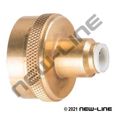 Tube x Female Garden Hose Thread Push-In