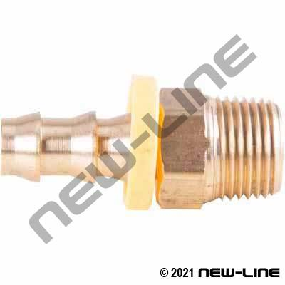 Push-On X Male NPT Solid