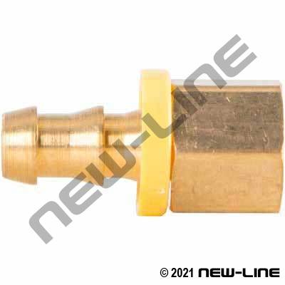 Push-On X Female NPT Solid