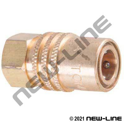 Female NPT x Injection Coupler