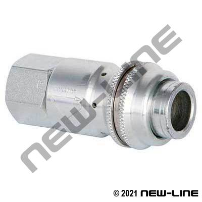 Industrial Interchange Safety Venting Coupler x Female NPT