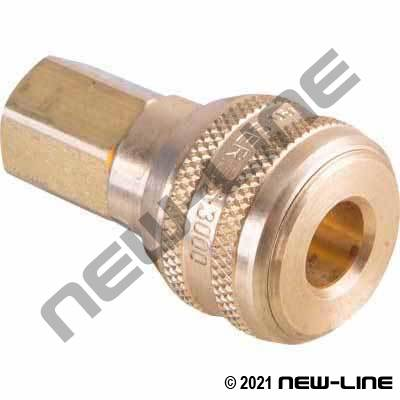 Hansen Industrial Push Coupler X Female NPT