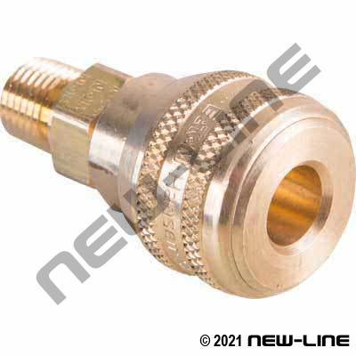 Hansen Industrial Push Coupler X Male NPT