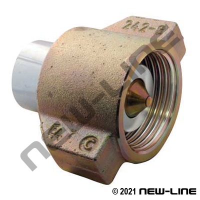 Steel WS Series (NON-BOP) Coupler x Female NPT