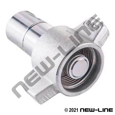 FD86 Female Coupler/Wingnut X Female NPT