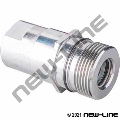FD86 Male Nipple - No Flange X Female NPT
