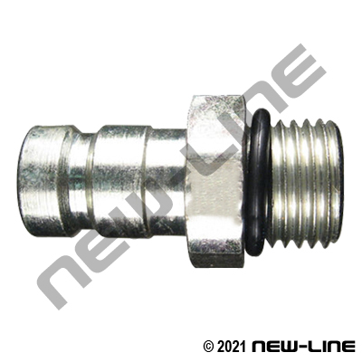 FD90 Hydraulic Test Nipple Male NPT