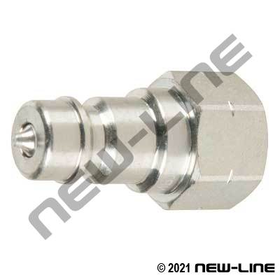 Steel Hydraulic 7241-1B Nipple X Female NPT