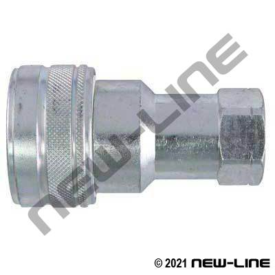 Steel Hydraulic 7241-1B Coupler X Female NPT