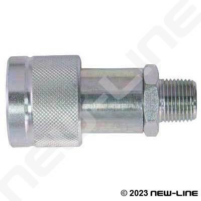 Hydraulic 10000 Psi Generic Coupler X Male Npt