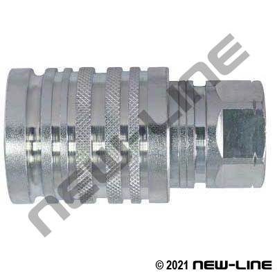 Agri 2-Way Coupler with Ball Tip X Female NPT
