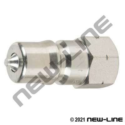 S56 ISO7241-1A Steel Nipple X Female NPT