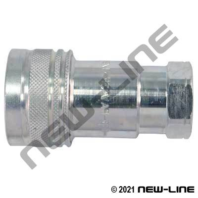 S56 ISO7241-1A Steel Coupler x Female NPT