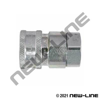 Snaptite H/Tuthill TH/Dixon V Valved Coupler x Female NPT