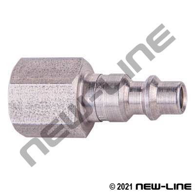 Industrial Interchange Nipple x Female NPT - Stainless Steel