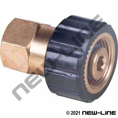 Female NPT x M22x1.5 Karcher Coupler