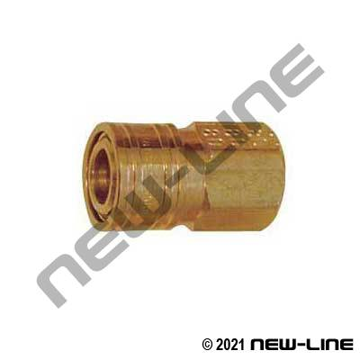 "1/8"" Mini Quick Disconnect x Female NPT Coupler"