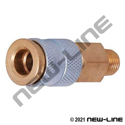 Hi-Flo Coupler X Male NPT