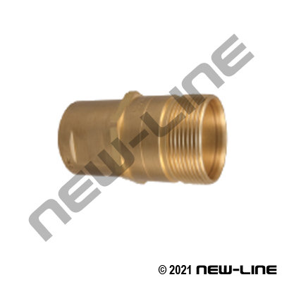NS511 Series Nipple For NS515 Wing Coupler x Female NPT