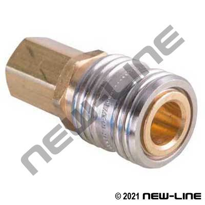 Hansen Industrial Coupler x Female NPT