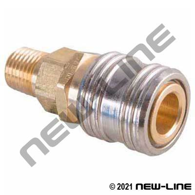 Hansen Industrial Coupler x Male NPT