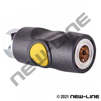 Push Button ARO-210 Safety Coupler x Female NPT