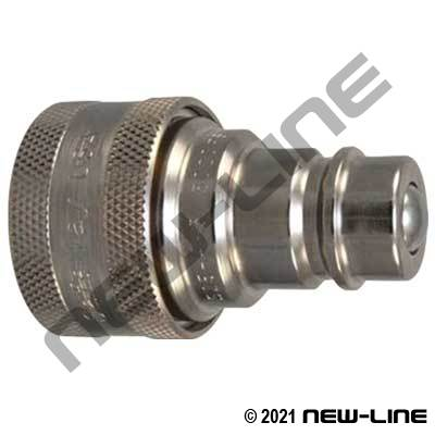 Conversion John Deere Coupler (Old Style) X ISO5675 Nipple