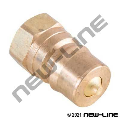 Brass Steam Quick Connect Nipple