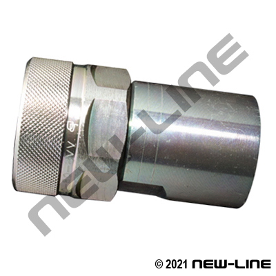Threaded Poppet Coupler x Female NPT
