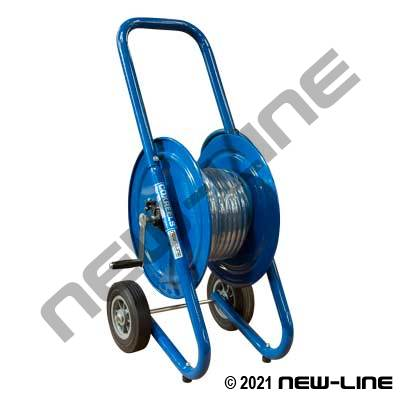 Blue Powerwash Sol/Swiv Dolly Mount Reel