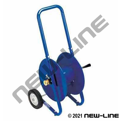 Coxreels HD Manual Hand Crank Rewind/Portable Mobile Cart