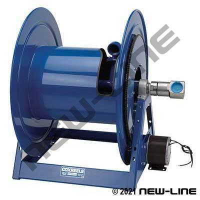 Coxreels 1195 HD - 12 Volt DC 1/2 HP Electric Rewind Reel