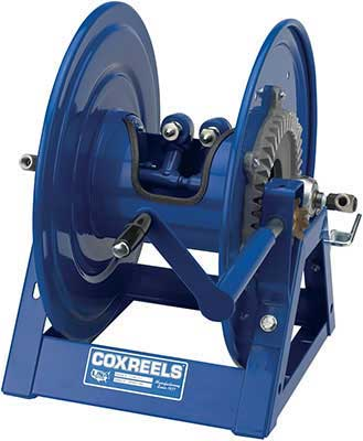 Coxreels HD Twin/Dual Hose 1275 - Geared Hand Crank Rewind