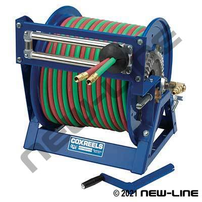 Coxreels HD Welding Hose Large Capacity Hand Crank Hose Reel