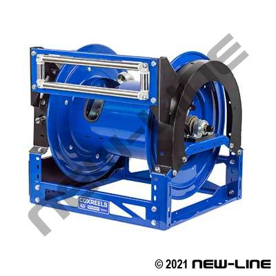 Coxreels HD 12 Volt DC 1/3 or 1/2 HP Electric Rewind Reel