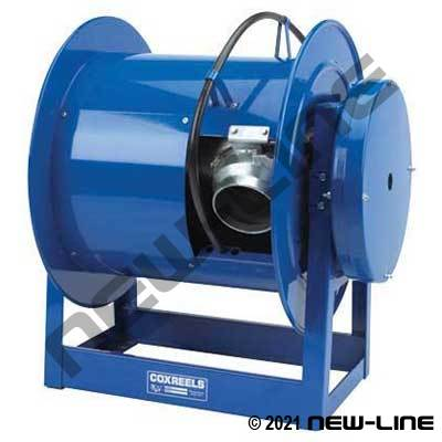 Coxreels Heavy Duty Spring Rewind Garage Exhaust Hose Reel