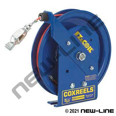 Coxreels EZ Coil Slow Retracting Static Discharge Hose Reel