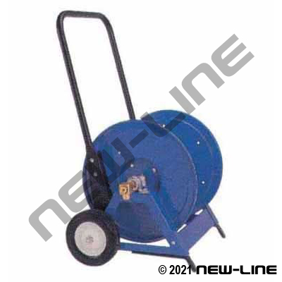 Coxreels Heavy Duty Hand Crank Hose Reel/Portable Cart