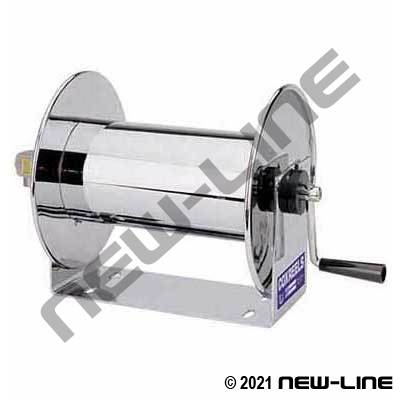Coxreels Stainless Steel Manual Hand Crank Rewind Hose Reel